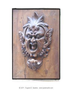 Italian Door Knocker - Sienna, Italy ~ from photographers pinterest page