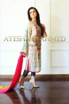 Ayesha Ahmed Bridal Formal Wear Dresses