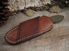 Image result for making a cross draw knife sheath