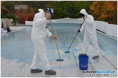 Here is the Question: Do I need to use a separate pail or bucket to mix? #Roofing #Coatings #Connecticut Find out the answer here: http://www.epdmcoatings.com/qa/51/do-i-need-to-use-a-separate-pail-or-bucket-to-mix