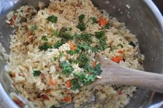 Flavorful Rice Pilaf  Ingredients    1 package vegetable soup mix (I used Knorr 1 ounce pkg)  3-4 chicken bouillon cubes plus 3 cups water*  1 cup uncooked long grain white rice (not instant)