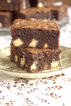 My Favourite Ultimate Gooey Brownies made with Terrys chocolate orange. Worlds best!