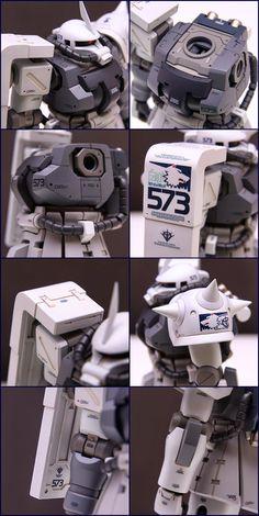 "Custom Build: HGUC 1/144 MS-06F-2 Zaku II F2 ""Shin Matsunaga Custom Ver. Sentinel 0079"" - Gundam Kits Collection News and Reviews"