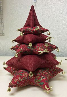 Fabric Christmas tree