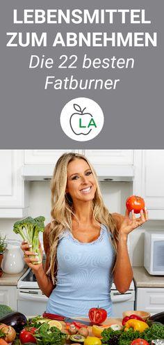 Lebensmittel zum Abnehmen - Die 22 besten Fatburner