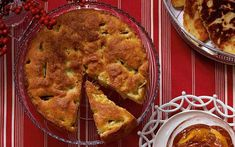 A recipe for Irish apple cake for a New Year's Day brunch