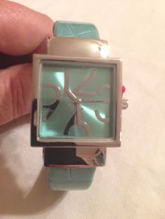 New Designer Style Turquoise Bangle Cuff Watch #GenevaNarmi #Fashion