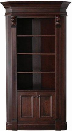 Amish Serenity Corner Hutch American Benchmade Furniture Collection Do you have limited space in your dining room but have a corner that is not being used? This Amish Serenity Corner Hutch is th Corner Furniture, Amish Furniture, Home Decor Furniture, Dining Room Furniture, Crockery Cabinet, Cabinet Decor, Corner China Cabinets, Curio Cabinets, Wardrobe Cabinets