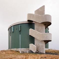 "(@waxandbrutalism) on Instagram: "" Borgarnes, Iceland. Architect: n/a Photographer: Sinziana Velicescu -> @casualtimetravel  Via:…"""
