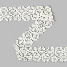 Renda de bilros Gavinha by tecidos.com.pt