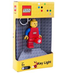 Bring this LEGO® Red Figure Key Light with you for quick assistance in almost any situation.
