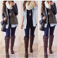 Cute Fall & winter outfit