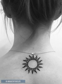 37 cute and sensible little tattoo designs - diy tattoo images Tattoo Style, Tattoo Trend, Diy Tattoo, Sun Henna Tattoo, Moon Sun Tattoo, Pretty Tattoos, Beautiful Tattoos, Cute Little Tattoos, Wrist Tattoos