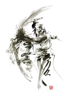 Ninja artwork - paintings and prints for sale.