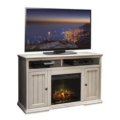 Electric fireplaces better homes and gardens and home and garden on pinterest for Better homes and gardens fireplace tv stand