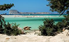 Balos Beach, Crete  My sis went here,,, gorgeous!!