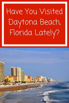 How long has it been since you visited Daytona Beach, the original American beach? If it has been awhile, perhaps you should reacquaint yourself with this affordable family destination that offers a plethora of things to do. Fun for all the ages await you