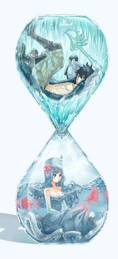 Gruvia Gray x Juvia Fairy Tail Fairy Tail Gray, Fairy Tail Love, Fairy Tail Ships, Art Fairy Tail, Fairy Tail Amour, Anime Fairy Tail, Fairy Tail Gruvia, Fairy Tail Guild, Fairy Tales