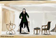 Dancing Loki... Amei isso