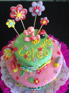 1er cumpleaños Fantasia del jardin