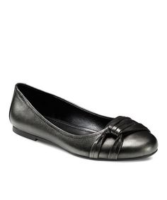 Take a look at this Warm Gray Kelly Flat by ECCO on #zulily today!