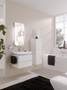 Laufen Palace Furniture, Home, Lighted Bathroom Mirror, Home Organisation, New Homes, Bathroom Mirror, Bathroom, Laufen Bathroom, Cribs