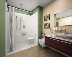 stylish vanity plus oval washbasin under mirror aside closet paired with modern bathroom shower | How to  Enhance Small Bathroom Shower | https://www.designoursign.com #bathroom  #luxurybathroom #luxurybathroomideas #luxuryfurniture #interiordesign #luxurydesign #homedecor #designdetails