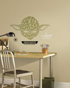 Star Wars Yoda Wall Decals