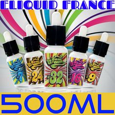 SWEET SUMMER GIVEAWAY - 500ml Gourmet Liquid by Eliquid France - LuckyVaper.com