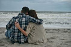 Couples beach photography