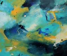 SOLD! 'Understand your limitations' from the 'On a Spectrum' series based on Asperger's research #painting #abstract #sale