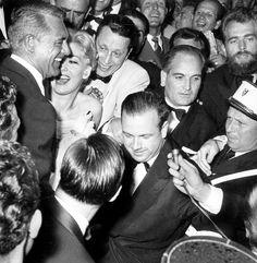 Kim Novak and Cary Grant