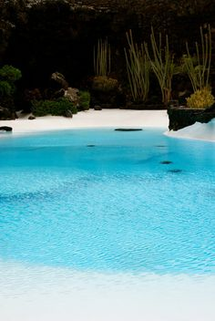 Jameos del Agua in Lanzarote; where perfection meets reality. (this is actually a pool but you would never know...)