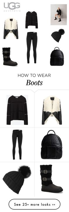 """Boot Remix with UGG : Contest Entry"" by lekeks on Polyvore featuring mode, UGG Australia, rag & bone, Zara et Alexander Wang"