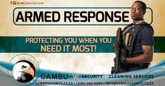 Regardless of your industry, we offer an armed response service that will not only meet your needs and expectations but exceed them.