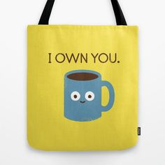 Pin for Later: 25 Amped-Up Gifts For Your Coffee-Obsessed Co-Worker  Coffee Talk Tote Bag ($22)