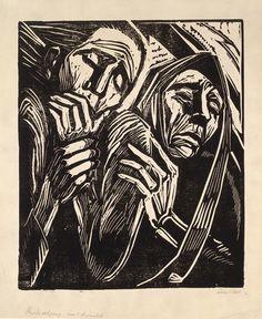 Sella Hasse, woodcut