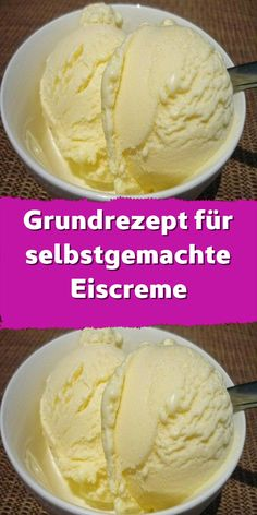 Fingerfood Party, Sorbets, Vegan Ice Cream, Ice Cream Recipes, No Bake Desserts, Good Food, Frozen, Healthy Recipes, Baking