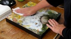 Watch Encaustic Painting & Texture Online   Vimeo On Demand
