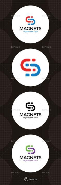 Synergy Magnet Logo - Letter S