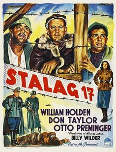 CAST: William Holden, Don Taylor, Peter Graves, Otto Preminger, Harvey Lembeck, Robert Strauss, Sig Rumann, Richard Erdman, Neville Brand, Gil Stratton, Robinson Stone, Robert Shawley, Jay Lawrence; D