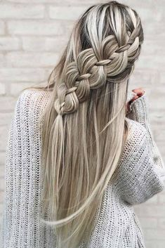 Creative Hairstyles, Wedding Hairstyles For Long Hair, Fancy Hairstyles, Trending Hairstyles, Braided Hairstyles, Hairstyles Haircuts, Curly Hairstyle, Gorgeous Hairstyles, Hairstyles Videos