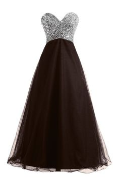"""Gotidy Empire Sweetheart Beaded Lace up Long Prom Party Dress For Women GTD47. Please Use The Size Chart Image on the Left. Do not use Amazon's """"Size Chart"""" link. In order to make dress perfect on you, we suggest you offer your accurate measurements. It's free of charge. Please choose your correct size based on our size chart on the left. Custom Size Service available for dresses ships from and sold by GoTidy. If you need a custom made size,pls check the Product Description part and give…"""