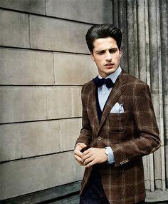 Interesting Suit Fabric