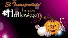 Happy Halloween from El Transportista
