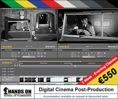 #Discover Non-Linear Digital #Editing Programs & #Techniques, as you familiarize, with all the #skills necessary to explore the magic of picture and #story manipulation - #Course starts: 24th November - #Study #Filmmaking in #Malta - Visit: http://www.handsonmalta.com/short-courses/