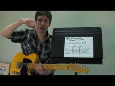 "Guitar PLAY-ALONG Lesson : ""Green Onions"" by Booker T. & The MGs! - YouTube"