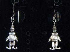Unique Sterling Silver Dangle Earrings-Hook Style SD