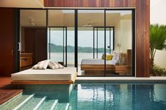 Room with a view at Hayman Island, Great Barrier Reef, Australia http://www.hayman.com.au/accommodation-and-reservations/hayman-beach/beach-villas/
