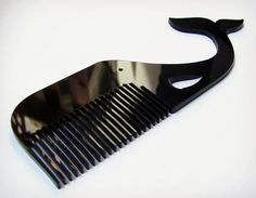 The Whale Mustache Comb.  When just having a mustache isn't bad ass enough for you.